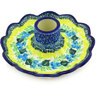 5-inch Stoneware Candle Holder - Polmedia Polish Pottery H3212G