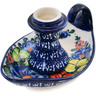 5-inch Stoneware Candle Holder - Polmedia Polish Pottery H3894B