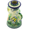 5-inch Stoneware Candle Holder - Polmedia Polish Pottery H4446G