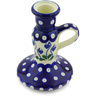 5-inch Stoneware Candle Holder - Polmedia Polish Pottery H4797G