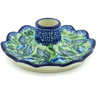 5-inch Stoneware Candle Holder - Polmedia Polish Pottery H4989H