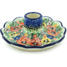 5-inch Stoneware Candle Holder - Polmedia Polish Pottery H4998H
