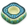 5-inch Stoneware Candle Holder - Polmedia Polish Pottery H5037G