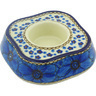 5-inch Stoneware Candle Holder - Polmedia Polish Pottery H5097G