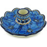 5-inch Stoneware Candle Holder - Polmedia Polish Pottery H5107H