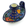 5-inch Stoneware Candle Holder - Polmedia Polish Pottery H5211J