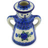 5-inch Stoneware Candle Holder - Polmedia Polish Pottery H5415G