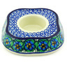 5-inch Stoneware Candle Holder - Polmedia Polish Pottery H5664G