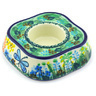 5-inch Stoneware Candle Holder - Polmedia Polish Pottery H6034G