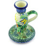 5-inch Stoneware Candle Holder - Polmedia Polish Pottery H6279G