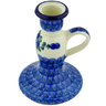 5-inch Stoneware Candle Holder - Polmedia Polish Pottery H6812G
