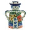 5-inch Stoneware Candle Holder - Polmedia Polish Pottery H8312A
