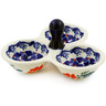5-inch Stoneware Condiment Server - Polmedia Polish Pottery H0794K