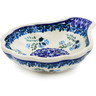 5-inch Stoneware Condiment Server - Polmedia Polish Pottery H0838K