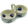 5-inch Stoneware Condiment Server - Polmedia Polish Pottery H2916I