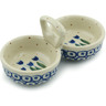 5-inch Stoneware Condiment Server - Polmedia Polish Pottery H2920I