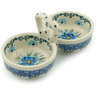 5-inch Stoneware Condiment Server - Polmedia Polish Pottery H6073I