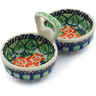 5-inch Stoneware Condiment Server - Polmedia Polish Pottery H9708B