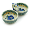 5-inch Stoneware Condiment Server - Polmedia Polish Pottery H9733B
