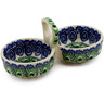 5-inch Stoneware Condiment Server - Polmedia Polish Pottery H9829B