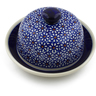 5-inch Stoneware Dish with Cover - Polmedia Polish Pottery H5565C