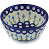 5-inch Stoneware Fluted Bowl - Polmedia Polish Pottery H0826H