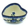 5-inch Stoneware Heart Shaped Bowl - Polmedia Polish Pottery H8190H