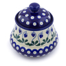 5-inch Stoneware Jar with Lid - Polmedia Polish Pottery H2791J