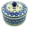 5-inch Stoneware Jar with Lid - Polmedia Polish Pottery H3778B