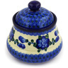 5-inch Stoneware Jar with Lid - Polmedia Polish Pottery H4689D