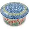 5-inch Stoneware Jar with Lid - Polmedia Polish Pottery H5021I