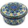 5-inch Stoneware Jar with Lid - Polmedia Polish Pottery H5022I