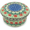 5-inch Stoneware Jar with Lid - Polmedia Polish Pottery H5024I