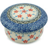 5-inch Stoneware Jar with Lid - Polmedia Polish Pottery H5025I