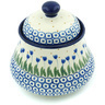 5-inch Stoneware Jar with Lid - Polmedia Polish Pottery H5266H