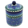 5-inch Stoneware Jar with Lid - Polmedia Polish Pottery H5679A