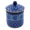 5-inch Stoneware Jar with Lid - Polmedia Polish Pottery H5680A