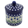 5-inch Stoneware Jar with Lid - Polmedia Polish Pottery H5702G