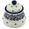 5-inch Stoneware Jar with Lid - Polmedia Polish Pottery H6255H