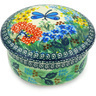 5-inch Stoneware Jar with Lid - Polmedia Polish Pottery H6845G