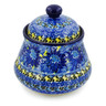 5-inch Stoneware Jar with Lid - Polmedia Polish Pottery H7657J