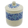 5-inch Stoneware Jar with Lid - Polmedia Polish Pottery H8181J
