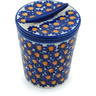 5-inch Stoneware Jar with Lid - Polmedia Polish Pottery H9490H
