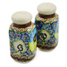 5-inch Stoneware Salt and Pepper Set - Polmedia Polish Pottery H0955E