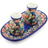 5-inch Stoneware Salt and Pepper Set - Polmedia Polish Pottery H3083I