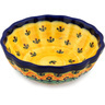 5-inch Stoneware Scalloped Bowl - Polmedia Polish Pottery H3460E