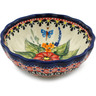 5-inch Stoneware Scalloped Bowl - Polmedia Polish Pottery H3461E