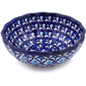 5-inch Stoneware Scalloped Bowl - Polmedia Polish Pottery H3646H
