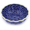 5-inch Stoneware Scalloped Bowl - Polmedia Polish Pottery H7226D