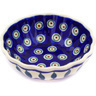 5-inch Stoneware Scalloped Bowl - Polmedia Polish Pottery H7231D